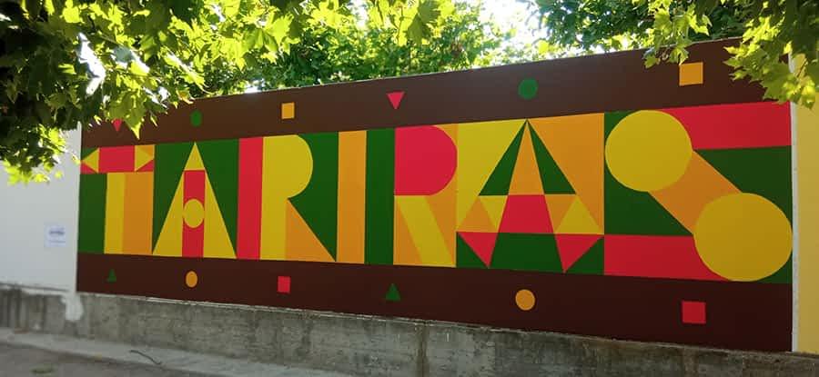 Arte comunitario en Azagra