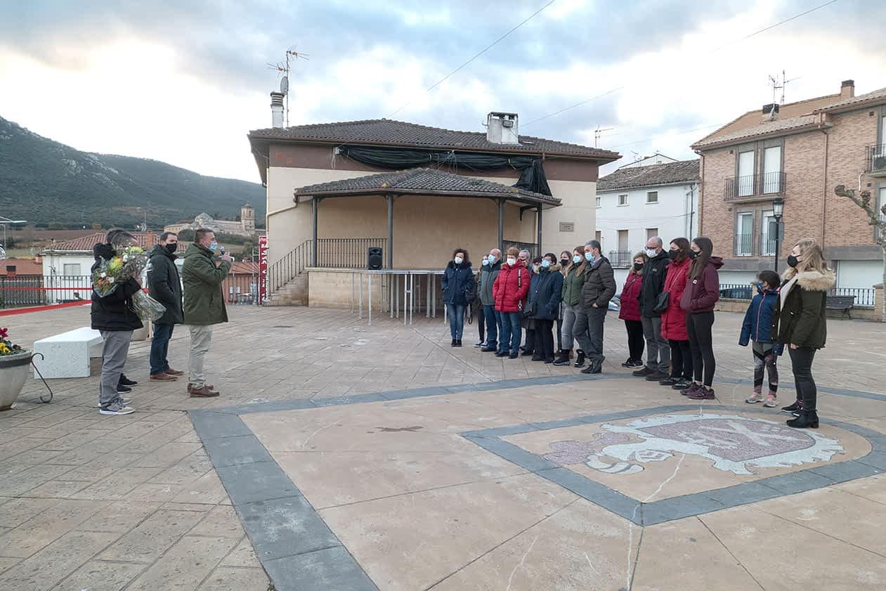 Inaugurado el parque infantil en Ayegui en recuerdo de Ixeya y Daniel