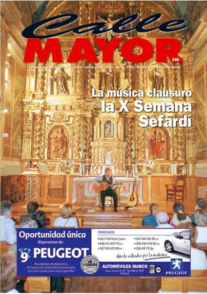 CALLE MAYOR 246 – LA MÚSICA CLAUSURÓ LA X SEMANA SEFARDÍ