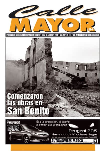 CALLE MAYOR 154 – COMENZARON LAS OBRAS EN SAN BENITO