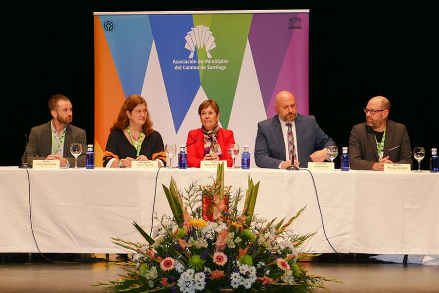 Estella acogió la III Asamblea de la Asociación de Municipios del Camino de Santiago