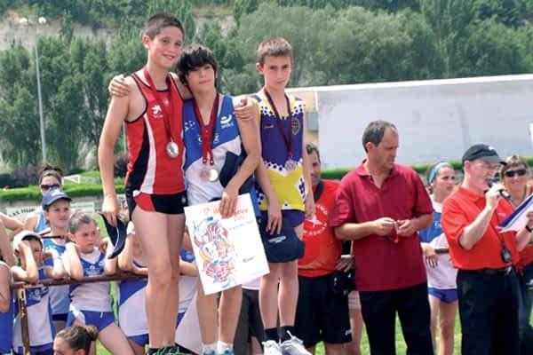 El club atlético Iranzu consigue tres medallas de Plata en los JDN