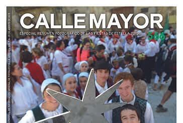 CALLE MAYOR 566 – LAS FIESTAS DE ESTELLA NOS DICEN ADIÓS