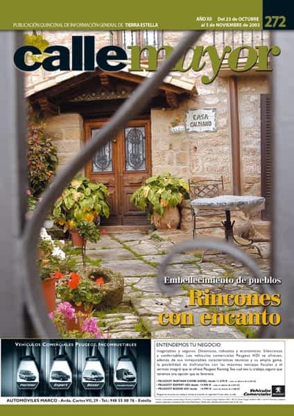 CALLE MAYOR 272 – EMBELLECIMIENTO DE PUEBLO. RINCONES CON ENCANTO
