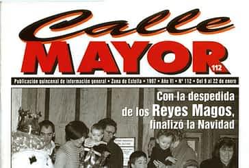 CALLE MAYOR 112 - CON LA DESPEDIDA DE LOS REYES MAGOS, FINALIZÓ LA NAVIDAD