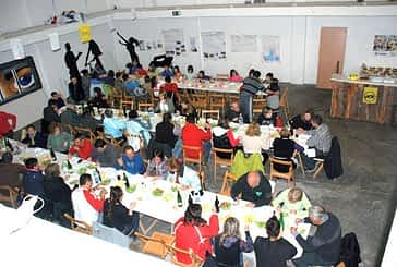 Fiesta solidaria en Ancín