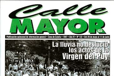 CALLE MAYOR 122 - LA LLUVIA NO DESLUCIÓ LOS ACTOS DE LA VIRGEN DEL PUY