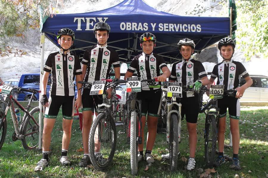 Victoria del alevín del Tex Aitor Hita en  la sexta prueba del Open Diario de Navarra