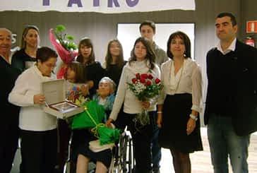 Patro Zabalegui, de la residencia La Luz de Estella, cumple 100 años