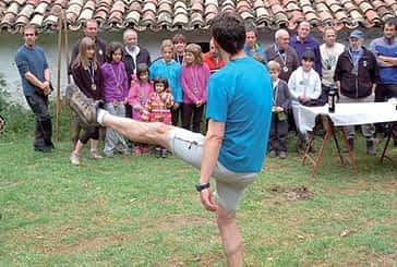 Fiesta finalista en Larraiza