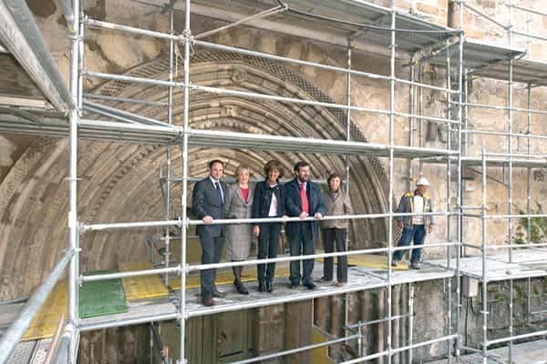 El final de la restauración global de San Pedro se prevé para 2012
