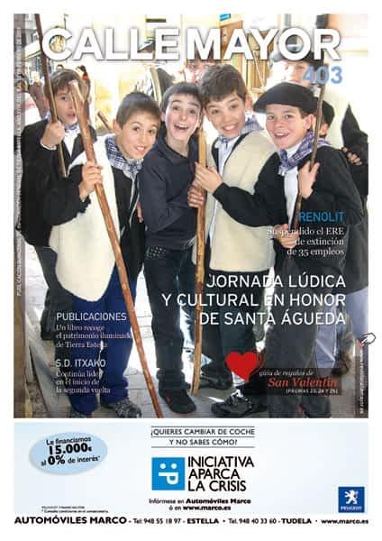CALLE MAYOR 403 – JORNADA LÚDICA Y CULTURAL EN HONOR DE SANTA ÁGUEDA