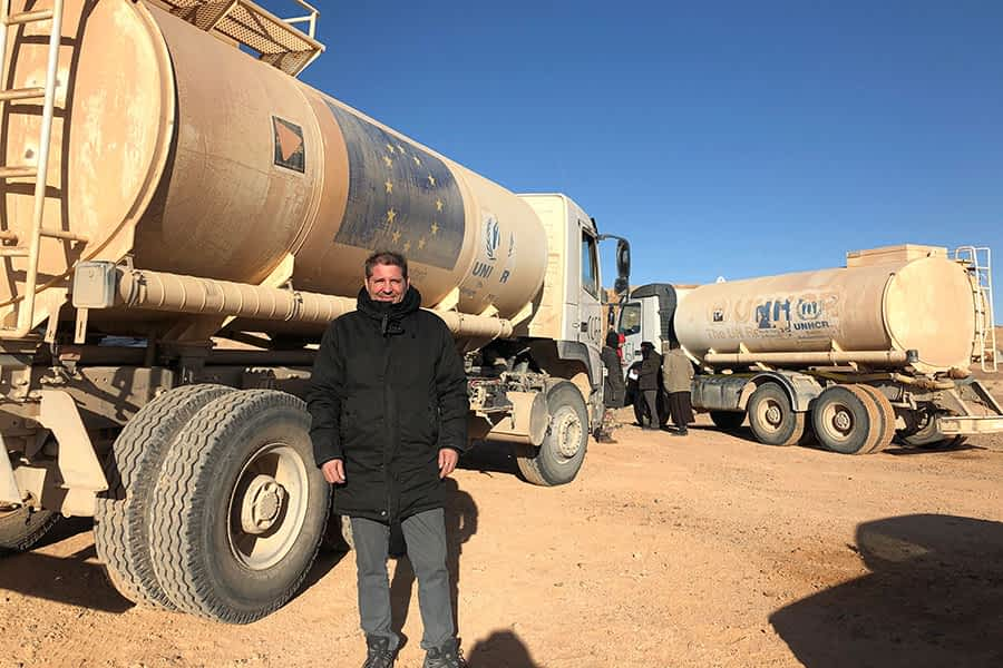 """TIERRA ESTELLA GLOBAL – Eduardo Irigoyen – Argelia – """"No soy muy optimista sobre una solución justa para  esta población"""""""