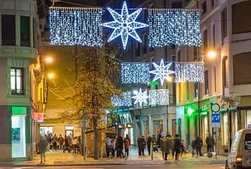 Inaugurada la iluminación navideña en las calles de Estella