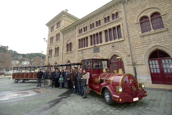 El tren turístico iniciará en marzo su recorrido por Estella