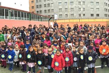 Conmemoración del Día de la Paz en los patios escolares