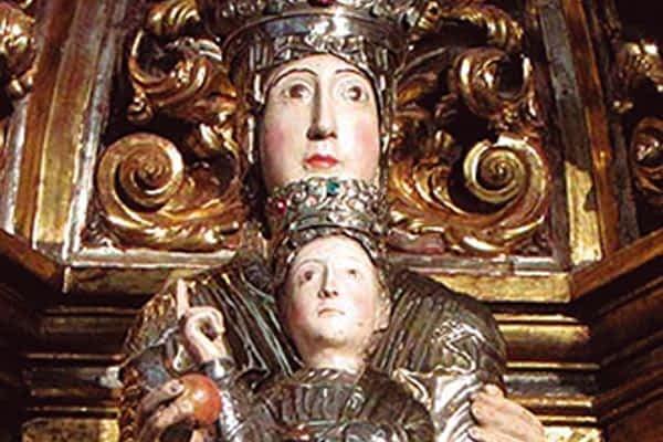 La Virgen de Irache, de Dicastillo, se expone en Madrid