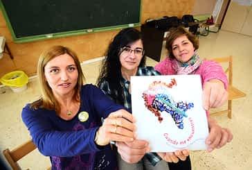 La Apyma de Remontival vende un libro infantil en favor de la Ictiosis