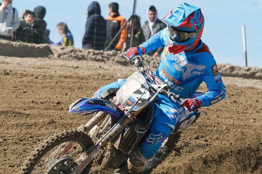 Ander Valentín pierde el liderato del Campeonato de Motocross