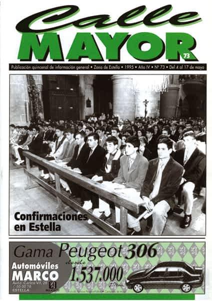 CALLE MAYOR 073 – CONFIRMACIONES EN ESTELLA
