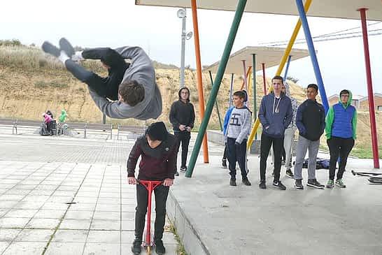 Ya se pueden utilizar los parques deportivos al aire libre