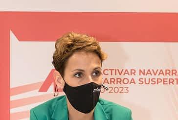 ENTREVISTA. MARÍA CHIVITE. PRESIDENTA DEL GOBIERNO DE NAVARRA.