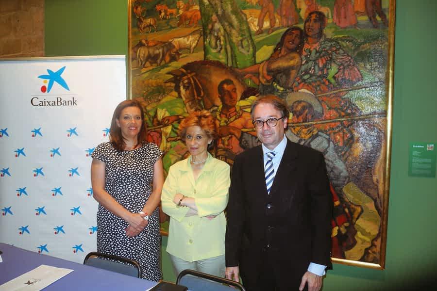 CaixaBank destinó 92.000 euros en 2014 a ayuda social en Tierra Estella