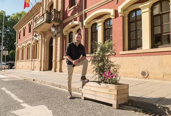 """ENTREVISTA - Koldo Leoz, alcalde de Estella-Lizarra - """"Podemos hacer muchas cosas durante el verano, no pensemos solo en el Viernes de Gigantes"""""""