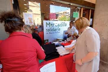 La Asociación Navarra Nuevo Futuro recaudó 6.000 euros en  su mercadillo solidario de Estella