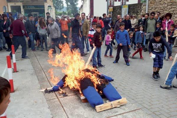 Murieta celebró la tradicional Fiesta del 'Mayo' en el último fin de semana del mes