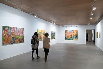 Color y energía positiva en la exposición del pintor Ruiz Balerdi