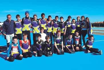 El cadete Masculino del C.D. Iranzu, campeón navarro de cross por equipos