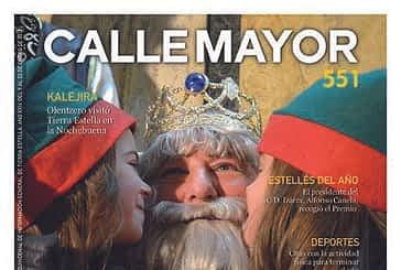 CALLE MAYOR 551 - LA VISITA DE LOS REYES MAGOS CLAUSURÓ LA NAVIDAD