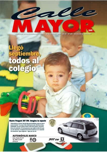 CALLE MAYOR 245 – LLEGÓ SEPTIEMBRE, TODOS AL COLEGIO