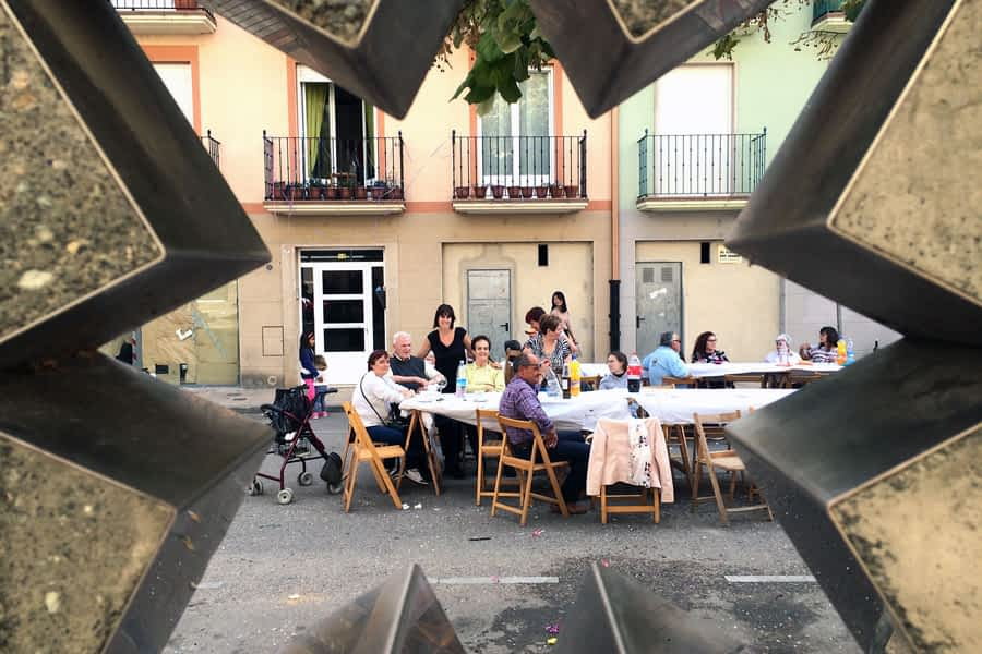 Las fiestas del barrio de San Miguel introdujeron  los calderetes como novedad