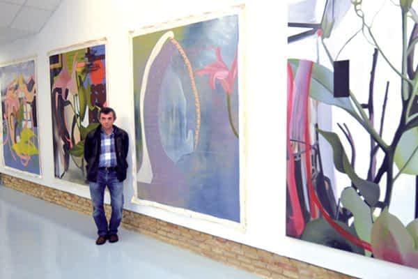 La naturaleza de Alfonso Ascunce ilumina el museo Gustavo de Maeztu