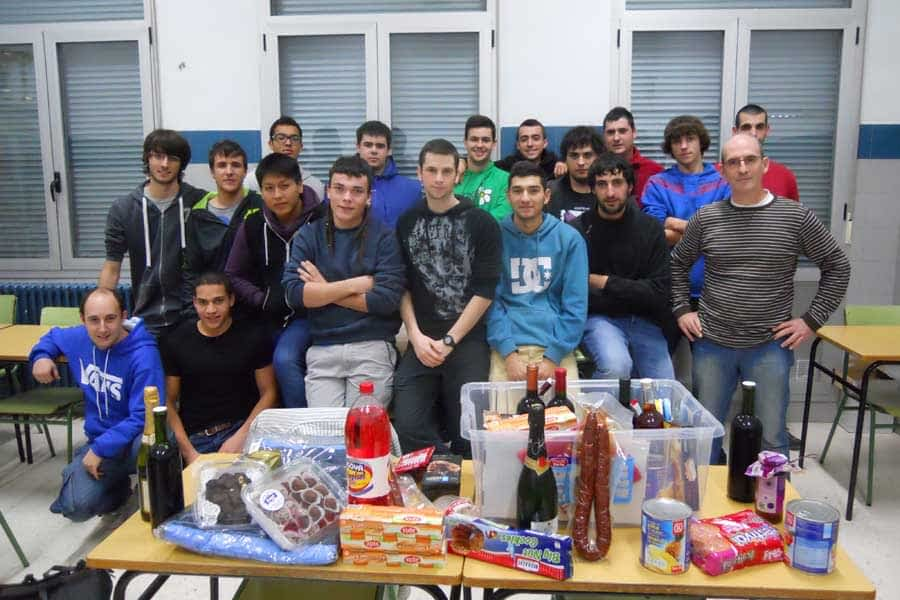 El Politécnico de Estella recaudó 2.500 euros para proyectos solidarios