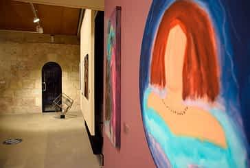 Pintura y escultura en el Maeztu para conmemorar los 25 años de Revistart