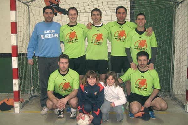 Finaliza el Campeonato  de Fútbol Sala