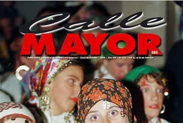 CALLE MAYOR 161 - LOS CALDEREROS ANUNCIARON EL CARNAVAL