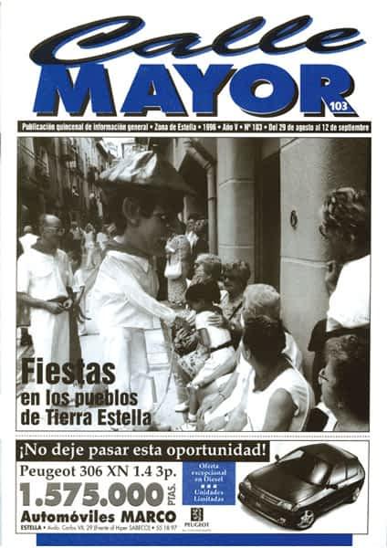 CALLE MAYOR 103 – FIESTAS EN LOS PUEBLOS DE TIERRA ESTELLA