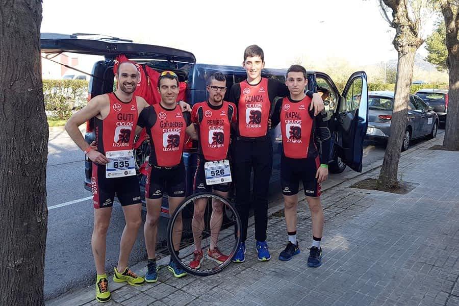Participación del Tri Ur Gazia en el Campeonato de España de Duatlón