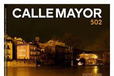 CALLE MAYOR 502 - LA SUBIDA DEL EGA CENTRÓ LA ATENCIÓN EN ESTELLA