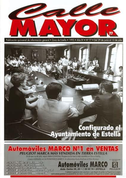CALLE MAYOR 077 – CONFIGURADO EL AYUNTAMIENTO DE ESTELLA
