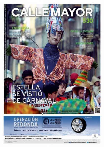 CALLE MAYOR 530 – ESTELLA SE VISTIÓ DE CARNAVAL