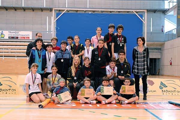 La final de los JDN de bádminton se disputó en Estella