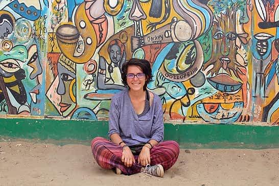 """TIERRA ESTELLA GLOBAL - Deliz Arzoz, Dinamarca - """"Hemos viajado durante cuatro meses por África Occidental en autobús"""""""
