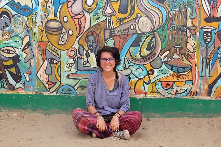 """TIERRA ESTELLA GLOBAL – Deliz Arzoz, Dinamarca – """"Hemos viajado durante cuatro meses por África Occidental en autobús"""""""