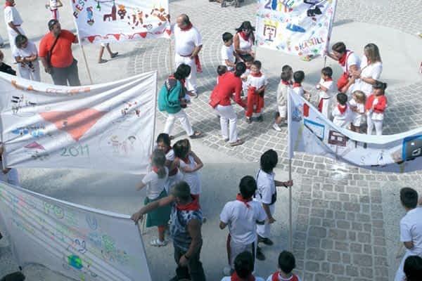 Dicastillo entregó el premio a las mejores pancartas el Día del Niño