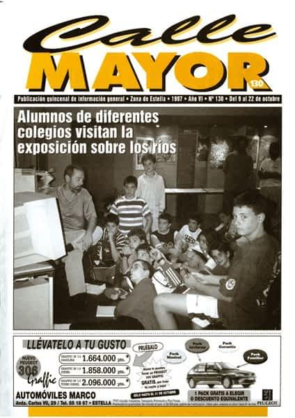 CALLE MAYOR 130 – ALUMNOS DE DIFERENTES COLEGIOS VISITAN LA EXPOSICIÓN SOBRE LOS RÍOS